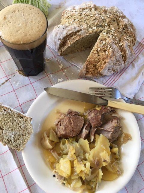 Irish stew et Soda bread